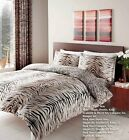 New Duvet Cover And Quilt Cover Tiger Skin Print Bedding Set Single Double King