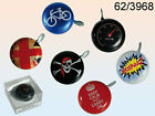 Novelty  Bicycle  Bell  -  Choice  O f 6  Different Designs  !!  Brand  New  !!