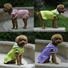 Fashion Dog Clothes Pet Hoodie Rain Coat for Small Dogs Pet Jacket Waterproof