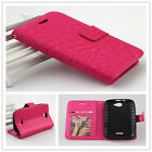 For BLU Advance 4.0 A270a PERFECT FIT Luxury Leather Wallet Case Cover