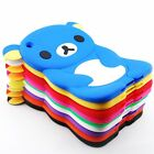 Lovely Cute Bear Silicone Soft Back Cover Case Skin for iPad Mini