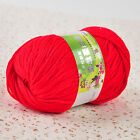 50g Super Soft Cashmere Baby Natural Smooth Bamboo Cotton Knitting Yarn Ball
