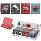 Pug & Kisses New Christmas Pug Nail File Matchbook Stocking Fillers