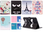 """Painting Leather Flip Smart Case Stand Cover for Samsung Galaxy Tab 4 10.1"""" T530"""