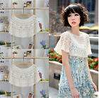 Cool Summer Women's Chic Swing Crochet Hollow Wrap Pullover Vest Tops UKFO