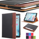 Folio New Soft Leather Wallet Smart Sleep / Wake Stand Case Cover for APPLE iPad