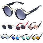 New Retro Vintage Men's Women's Round Sunglasses Unisex Fashion Eyewear Glasses