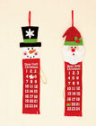 Fabric Advent Calendar with little pockets for treats & Christmas tree date mark
