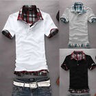Fancy Vigorous New Cute Slim Fit Polo Shirt T-shirts Tee Shirt White Black Tops