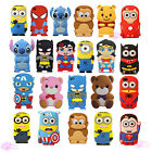Hot Super Hero 3D Cute Cartoon Minions Case Cover For Apple iPod Touch 4/5/6 Gen
