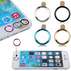 Metal Home Button Ring Circle Cover Sticker Skin For Apple iphone 5S 6 6Plus Hot