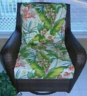 Tommy Bahama Fresco Tropical Cushion for Deep Seat Furniture Chair, Choose Size