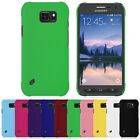 For Samsung Galaxy S6 Active SM-G890 Hard Rubberized Matte Back Cover Case Skin