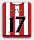 SUNDERLAND FOOTBALL themed MOUSEMAT - Personalised mouse mat pad 15 16 shirt