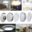 12W 18W LED Flush Mounted Ceiling Down Panel Light Wall Kitchen Day Warm White