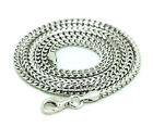 30 inch in mm - .925 Sterling Silver Franco Chain Italy Necklace Mens Link 20-30In 2mm