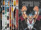 SUPREME LOT OF 9 - #1 #2 #3 #4 #6 #7 #8 #9 #10 (NM-) IMAGE COMICS