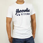 New Abercrombie & Fitch by Hollister Men APPLIQUE LOGO GRAPHIC TEE Muscle Size