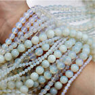 Natural White Opal Round Opalite Gemstone Loose Spacer Beads stone 4/6/8/10/12mm