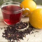 Hibiscus Orange Herbal Tea Organic -  by ounce or tea bags hot or cold ice tea
