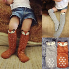 Baby Children Girls Fox Socks Soft Cotton Knee High Hosiery Leg Warmer Stockings
