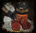 NELLIE'S PALM WAX TARTS.....LARGE PUMPKINS......-NEW AUTUMN & HALLOWEEN SCENTS