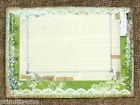LARGE DOUBLE or SINGLE SIDED SHABBY CHIC WEDDING TABLE CARDS or SIGN #494