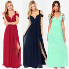 Women Sexy Long Maxi Dress Ball Gown Club Party Evening Wedding Dresses FO UK 09