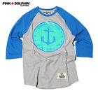 Pink Dolphin Graphic T-Shirt Size XL #Style 814