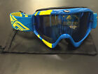 Fly Racing Zone Goggles MX Motocross DirtBike OffRoad Mirrored Lens Adult Youth