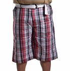 Southpole Collection Men's Big & Tall Casual Plaid Shorts