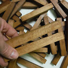 100 Orangeheart tropical wood turning squares 1 x 1 x 6 inches long kiln dried