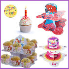 Kid's Party Decor Cup Cake Snack Stand Birthday Muffin Holder Disney Cartoon NEW