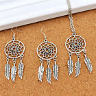 Women  Vinatge Jewelry Set Chic Boho Earrings Multi-layer Necklace Elegant HOT