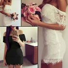 Women Summer Bandage BodyCon Lace Evening  Party Cocktail Mini Dress Lady Hot