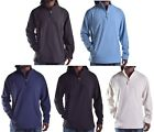 Club Room Men's Fleece Light Weight 1/4 Zip Jacket