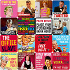 Dean Morris Rude or Humorous Coaster Coasters Expletive Swear Words Funny