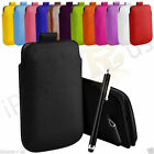 XXL Premium PU Leather Pull Tab Case Cover With Big Pen For Mirosoft Lumia 550