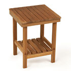 Rigid-Leg Mini Teak Bench