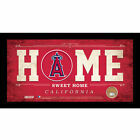 MLB Home Sweet Home Sign with Game-Used Dirt - Los Angeles Angels