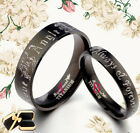Anyword Matching Titanium Wedding Rings 073EE