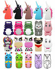 Cute New Animals Soft Silicone Rubber 3D Case Cover For iPhone 5 5c 6 Plus 7 SE