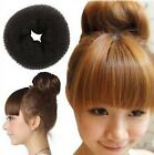 FD381 Women Girl Princess Queen Hair Bun Donut Ring Styler Maker 9-10cm ~1PC~