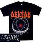 Deicide Legion Shirt S M L XL Official Death Metal Band T-Shirt Black Tshirt New