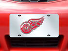 Fanmats NHL Teams 6 x 12 Exterior Improve Vehicle Inlaid Acrylic License Plate