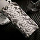 New Luxury Genuine Python Snake Skin Leather BackCover Case For iPhone 6s Plus