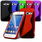 S Line Wave Gel Silicone Case Cover For Samsung Galaxy Trend 2 Lite