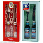 Heinz Tomato Ketchup or HP Sauce Cutlery Set Knife Fork Retro Food