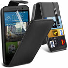 6 Colour Leather Flip Mobile Phone Case Cover For HTC One M9