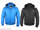 Mens ellesse Trivento Padded Quilted Hooded Jacket Winter Coat
